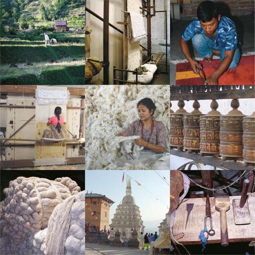 Handgeknüpfte Nepalteppiche  Teppichfocus